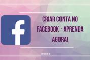 criar conta no facebook
